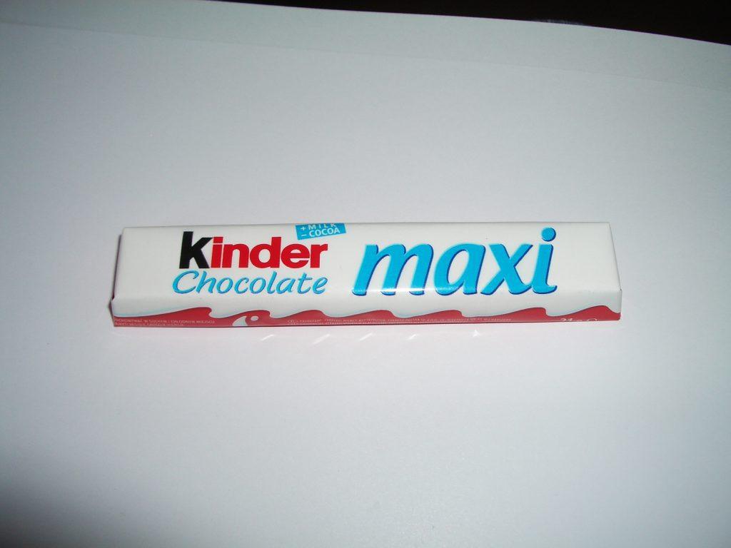 Šokoladas kinder maxi