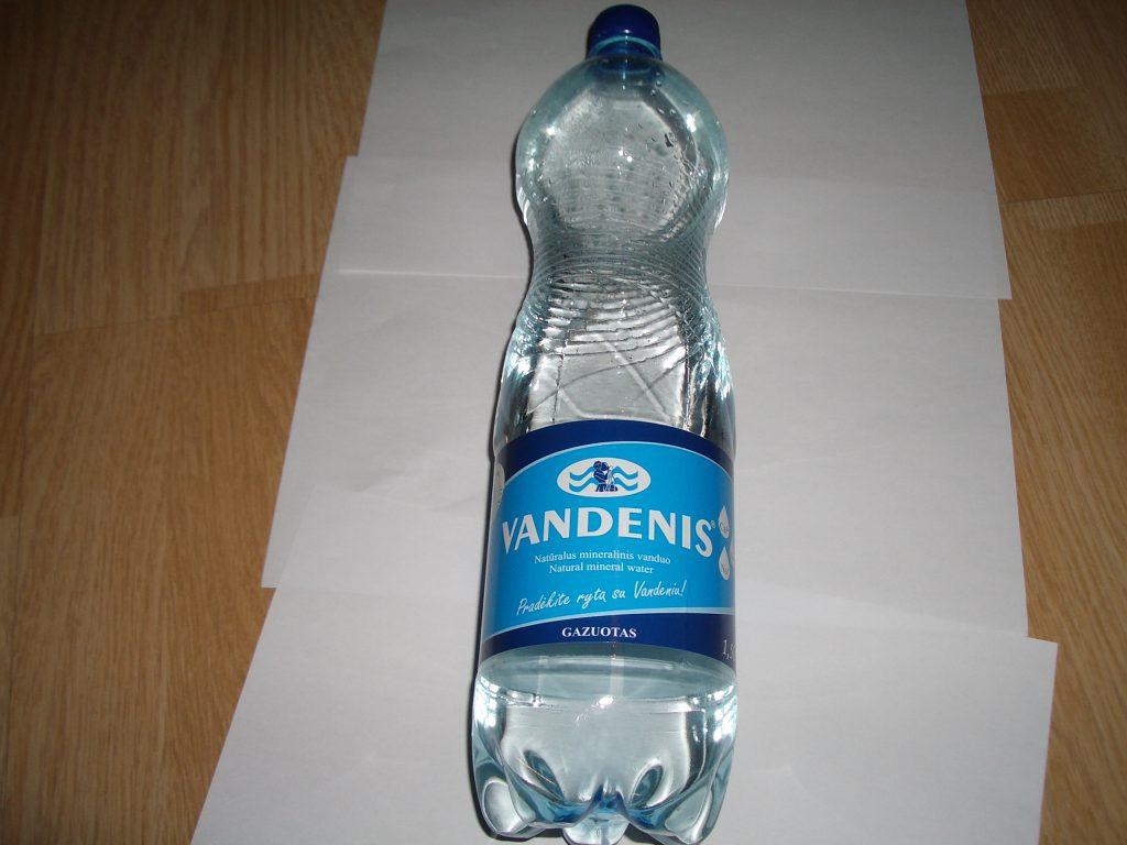 Natūralus mineralinis vanduo Vandenis