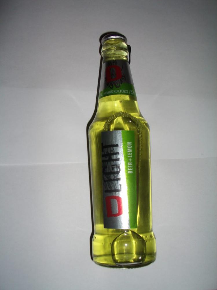 D liht alaus kokteilis