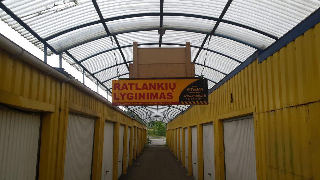 Ratlankių lyginimas ir taisymas Vilniuje