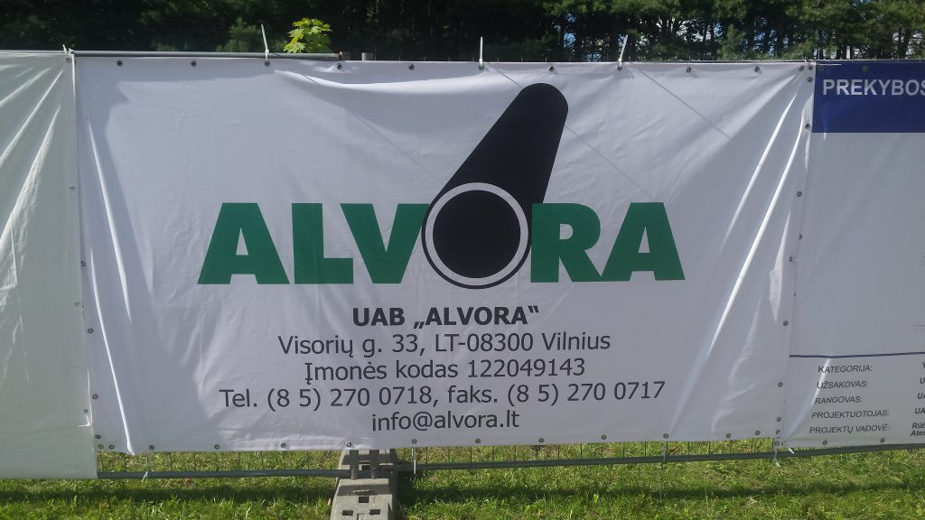 Statybos įmonė Alvora