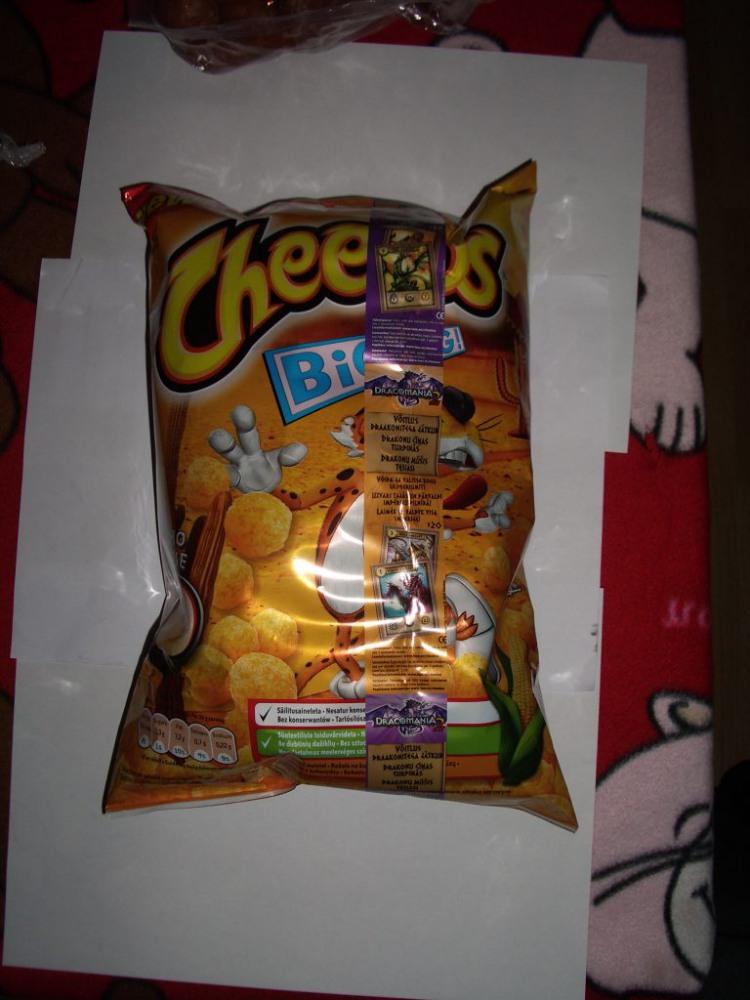 Cheetos sūrio užkandis