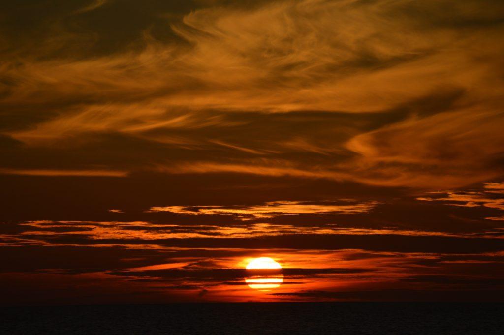 Baltijos jūros saulėlydis