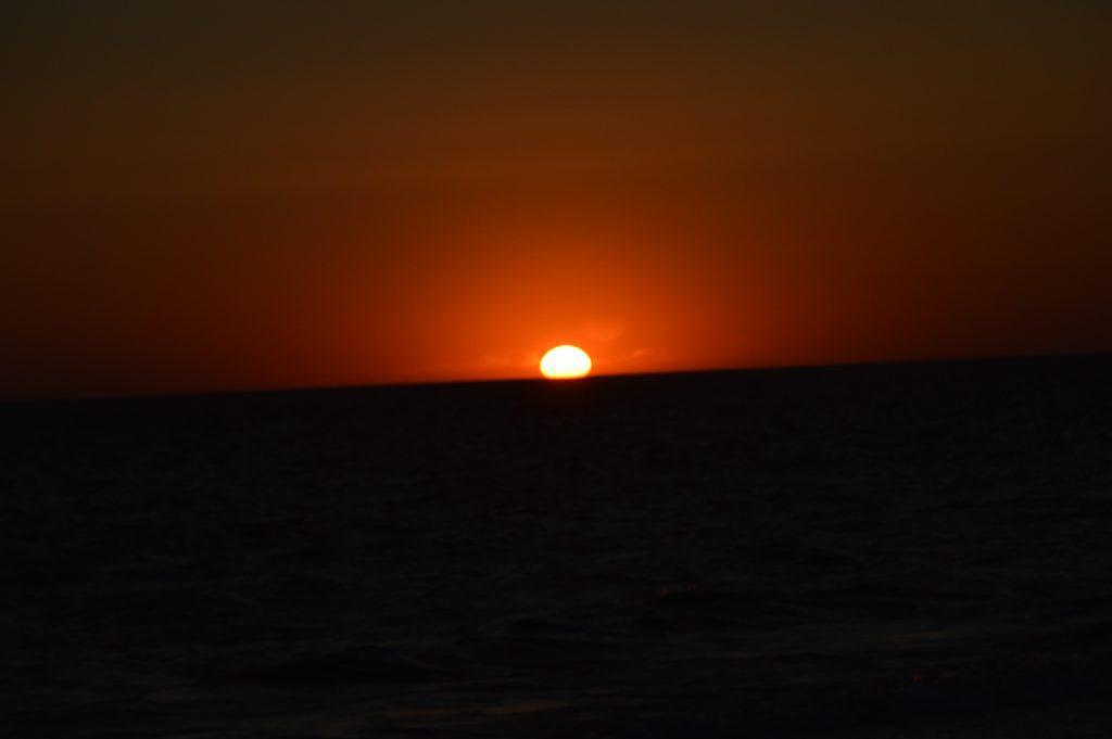 Baltijos jūros saulėlydis iš Nidos