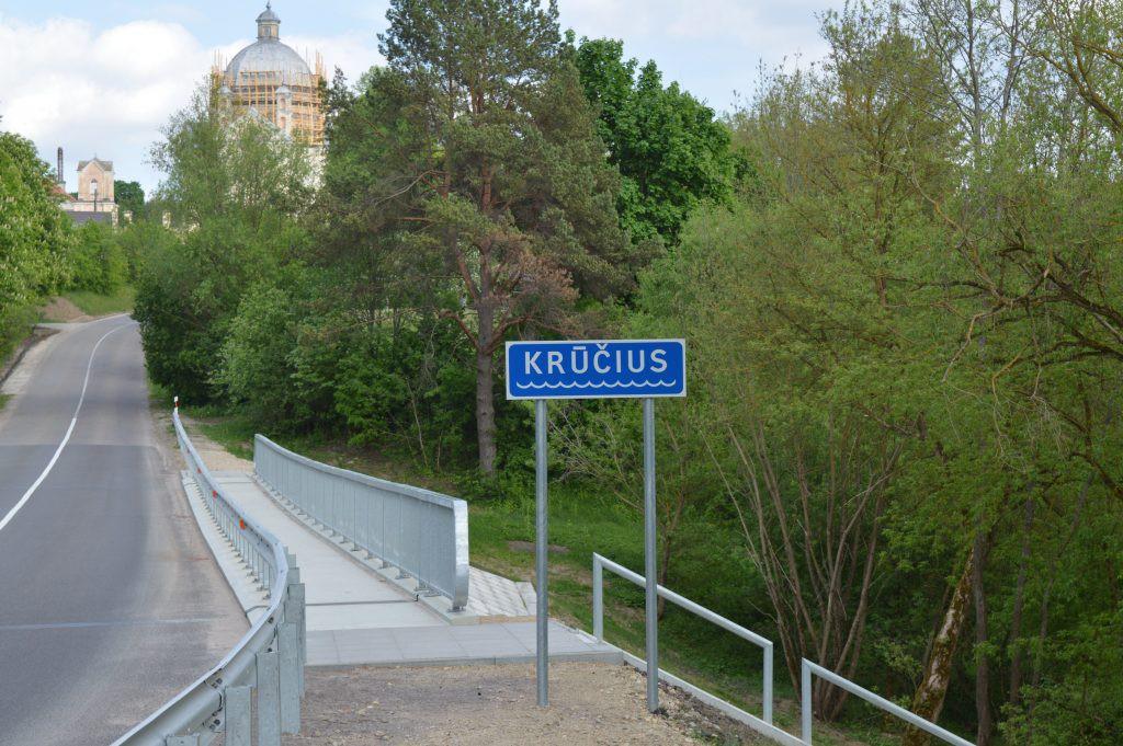 Liškiavos upelis Krūčius