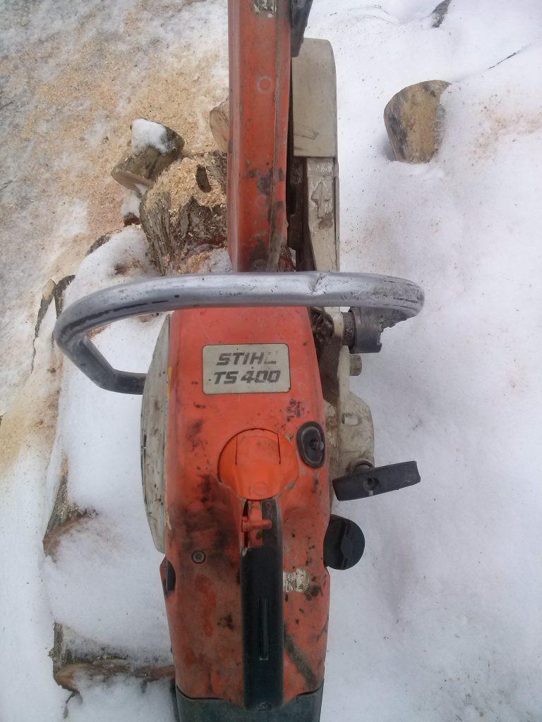Stihl betono pjaustyklė