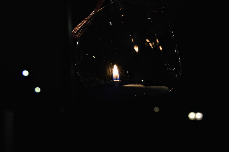 Stiklinės žvakidės