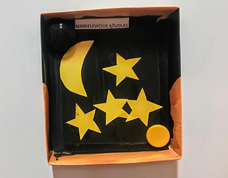Ąžuolo naktis dėžutėje