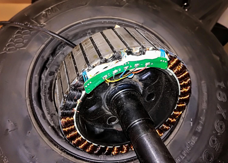 Elektrinio paspirtuko variklis