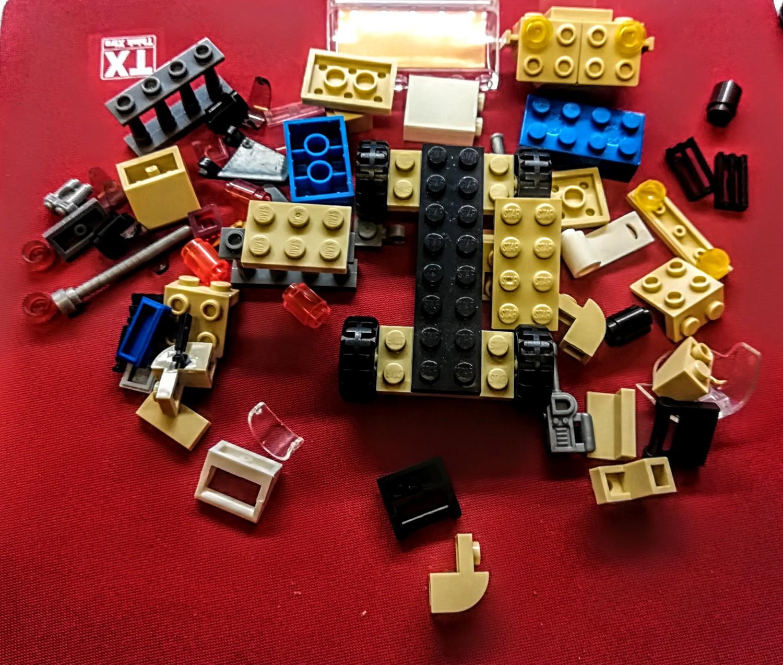 Lego analogas Star