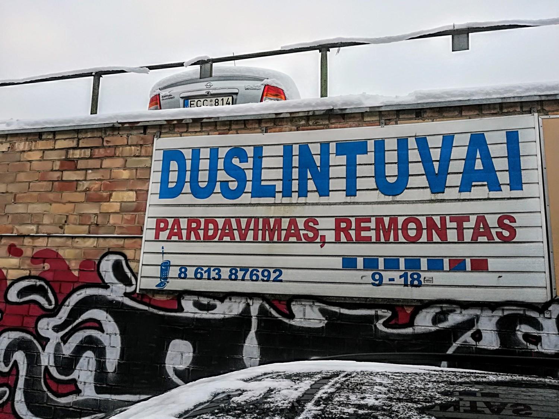 Pigus duslintuvų remontas Vilniuje